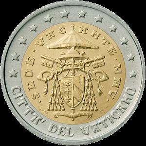 2 eure gedenkmünze