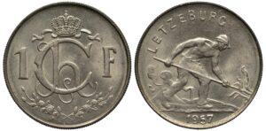 Münzen Luxemburg