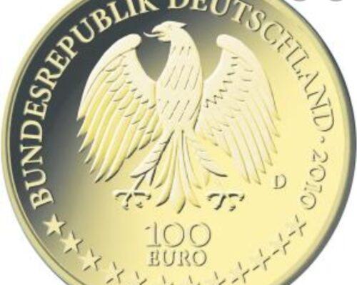 100 Euro Goldmünze