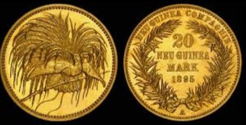 Münzen Deutsche Kolonie