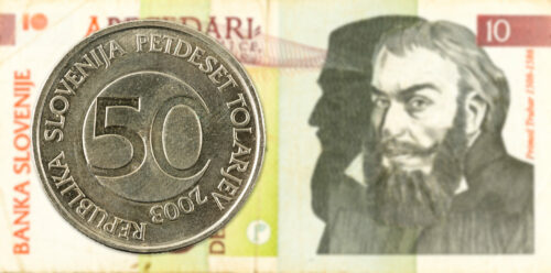 Münzen Slowenien