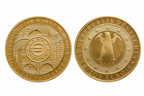 200 Euro Goldmünze
