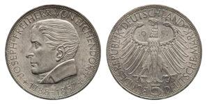 5 DM Gedenkmünzen