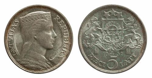 Münzen Lettland