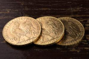 Münzen aus Frankreich