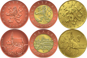 Münzen Tschechien