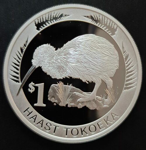 Neuseeland Kiwi Münzen