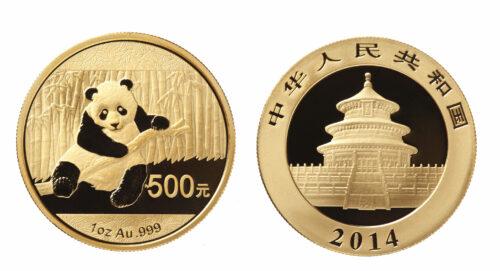 China Panda Münze